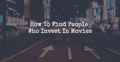 The film finance guide provides filmmakers with a solid film funding strategy. This film funding system will show you how to find movie investors and raise money so you can make your movie. Film Movie, Movies, Films, Film Finance, Film Tips, Film Studies, Living In La, Editing Writing, Film School