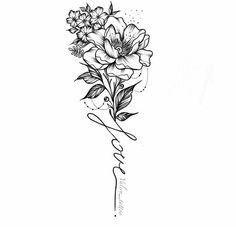 back tattoos spine Mini Tattoos, Dream Tattoos, Trendy Tattoos, Rose Tattoos, Unique Tattoos, Beautiful Tattoos, Flower Tattoos, Body Art Tattoos, Small Tattoos