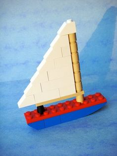 Sailboat LEGO Instructions