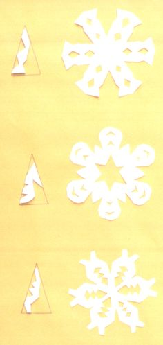 snowflakes.  This is so helpful, since ours always look like they were done by people without oposable thumbs.