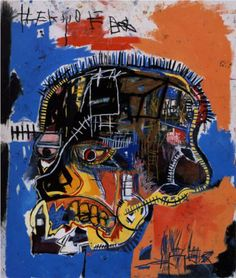 Jean-Michel Basquiat - one of the most influential black artists.