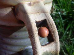 Meditační hrnek s dřevěným korálkem :)