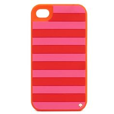 candy striped iphone case from kate spade - love the colors!