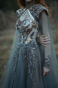 Ball Dresses, Ball Gowns, Prom Dresses, Wedding Dresses, Beaded Prom Dress, Formal Dresses, Kleidung Design, Fantasy Gowns, Fantasy Outfits