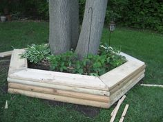 A great way to utilize your yard if you have limited space, but still want seating - MyHomeLifeMag.com