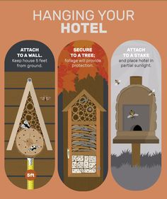 Attract Beneficial Insects and Bees With Your Own Insect Hotel… | http://www.ecosnippets.com/gardening/how-to-build-an-insect-hotel/