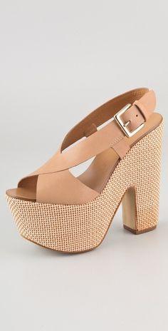 Report Signature Rumson Platform Sandals
