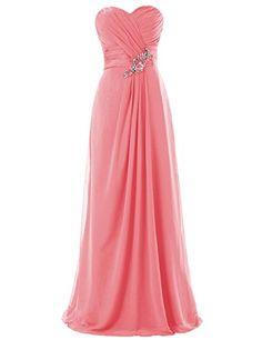 Dresstells Long Chiffon Dress with Beadings Bridesmaid Dresses Wedding Dress Coral Size 2 Dresstells http://www.amazon.com/dp/B00M951MSS/ref=cm_sw_r_pi_dp_7TXRub00VWMJG