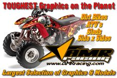 AMR Dirt Bike Graphics