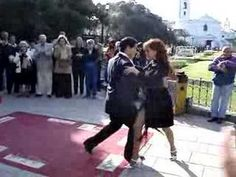 Tango Milonga in Buenos Aires, Argentina - Street Tango