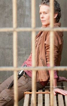 Carol (Melissa McBride), a changed woman since season one