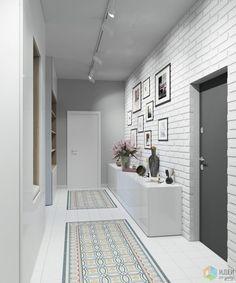 What design do you like more? Design Loft, Flur Design, Design Case, House Design, Hallway Decorating, Entryway Decor, Interior Decorating, Living Room Designs, Living Room Decor