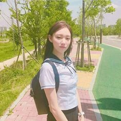 Lee Sung-kyung 이성경 (born August is a South Korean model and actress. She is known for her roles in different dramas such as It's Okay, That's Love Cheese in theTrap Doctors Sulli, Korean Actresses, Korean Actors, Lee Sung Kyung Doctors, Korean Celebrities, Celebs, Lee Hi, Kdrama, Weightlifting Fairy Kim Bok Joo
