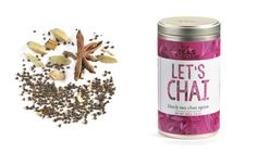 For Tea's Sake, Black Tea Chai Spice Blend (3.5oz/100g) $14.99 Spice Blends, Chai, Brewing, Spices, Herbs, Treats, Let It Be, Fruit, Black