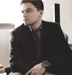 leonardo dicaprio Tag Heuer Carrera Caliber 16 Day-Date Chronograph celebrity watches