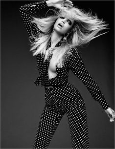 Daphne Groeneveld @DaphneGrnvld by Jason Kibbler www.jasonkibbler.com for Vogue Russia @VOGUERussia August 2015 #hair #motion