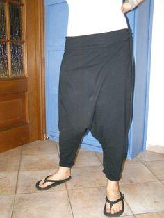 pantaloni cavallo basso di LaSartoriaArtigiana su Etsy