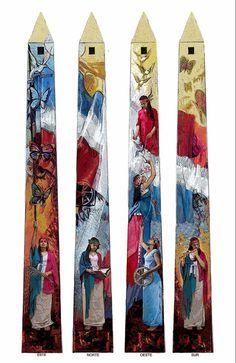 Obelisco de las hermanas Mirabal - las Mariposas - en el malecón de Santo Domingo