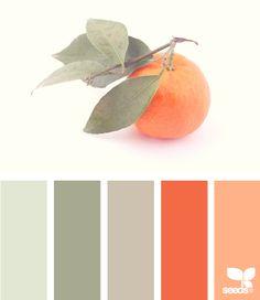 orange & greys