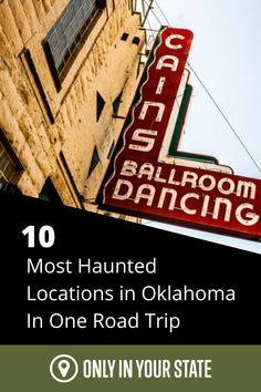 Are you looking for thrills and chills this fall? Then, this Oklahoma road trip with the 10 most haunted places is sure to delight you. From cemeteries to ghost towns to an abandoned insane asylum, this haunted road trip will lead you to places where ghosts reside and paranormal activity is common. It's time to discover how brave you are! Most Haunted Places, Scary Places, Insane Asylum, Spring Nature, Ghost Towns, Paranormal, Small Towns, Ghosts, Road Trips