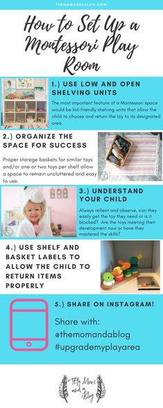 This article provides tips to create or update a growing toddler's Montessori inspired play space to meet their developing abilities. playroom Montessori Inspired Playroom for a Two Year Old Montessori Toddler Rooms, Toddler Playroom, Montessori Bedroom, Montessori Preschool, Toddler Toys, Baby Design, Playroom Design, Playroom Ideas, Playroom Storage