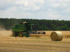 Cutting Wheat in South Georgia (from Georgia Farmer)