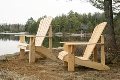 Grandpa Adirondack Chair Plans DXF files for by TheBarleyHarvest