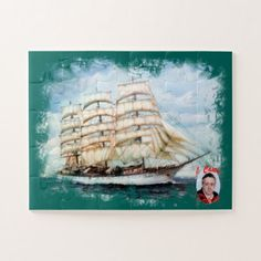 Boat race Cutty Sark/Cutty Sark Tall Ships' RACE Jigsaw Puzzle - home gifts ideas decor special unique custom individual customized individualized