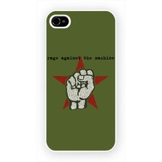 Rage Against The Machine - Fist iPhone 4 4s and iPhone 5 Case