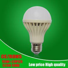 도매 Led 전구 SMD5730 E27 B22 3 와트 5 와트 7 와트 9 와트 12 와트 15 와트 18 와트 LED 램프 110 볼트 220 볼트 240 볼트 전구 홈 스포트라이트 램프