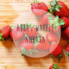 Leziz mi leziz, taze mi taze! Ankara, Serving Bowls, Waffles, Strawberry, Fruit, Tableware, Instagram Posts, Food, Dinnerware