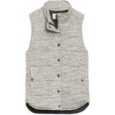 Like this grey vest https://www.stitchfix.com/referral/5378806