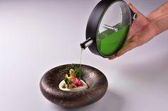 Z degustačního menu restaurace Salabka Restaurant Guide, Serving Bowls, Tableware, Fine Dining, Dinnerware, Dishes, Bowls