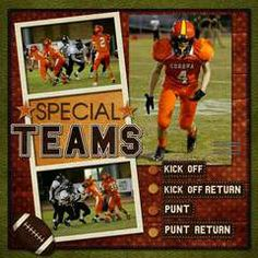 Scrapbook.com Layout Projects: Sports