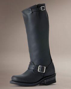 Womens Engineer 15R Boot - Black