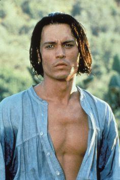 """Johnny Depp en """"Don Juan DeMarco"""", 1994"""