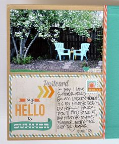SN@P! Binder created by Layle Koncar using our I Heart Summer collection