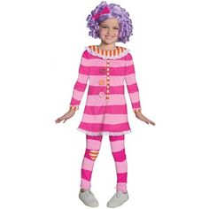 Lalaloopsy - Pillow Featherbed Deluxe Toddler / Kids Costume #officiallalaloopsycostumes.com