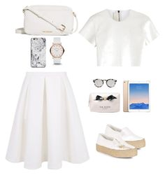 """White"" by harina23 on Polyvore featuring Neil Barrett, Keepsake the Label, Vera Bradley, Marc by Marc Jacobs, Ted Baker and Illesteva"