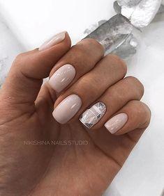 Маникюр Shellac Nails, Nude Nails, Manicure And Pedicure, Pin On, Minimalist Nails, Bling Nails, Nails Inspiration, Beauty Nails, Pretty Nails