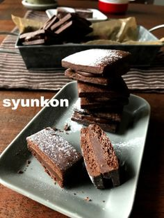 There is an additional post 【It is really recommended! 】 Valentine with * Material 5 chocolat butter sand Easy Sweets, Sweets Recipes, Cookie Recipes, Snack Recipes, Desserts, Healthy Recipes, Love Eat, Love Food, Don Perignon