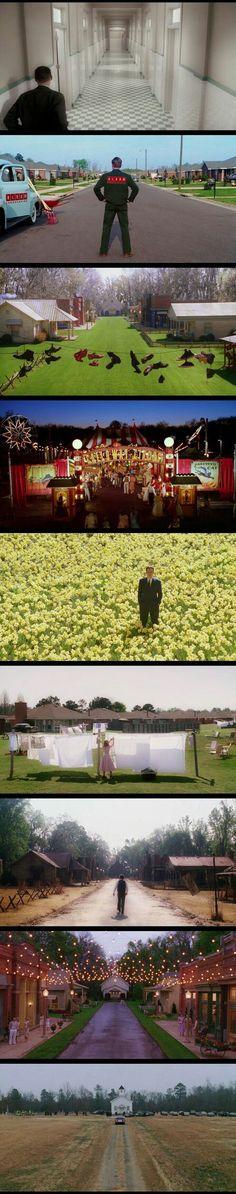 Production Design + Cinematography. Big Fish(2003) Director: Tim Burton.