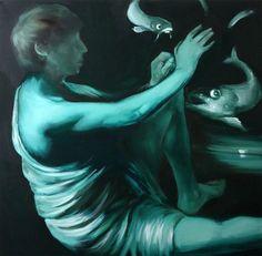 100x100 cm oil on canvas