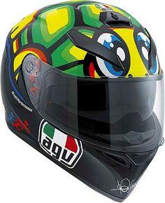 It's back!! The AGV K3 SV Rossi Turtle Tartaruga Tortuga