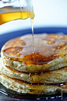 Lemon Poppy Seed Pancakes Recipe