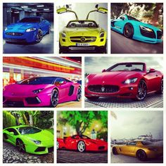 Super car Rainbow! Cool!