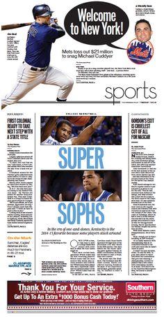 Sports, Nov. 11, 2014.
