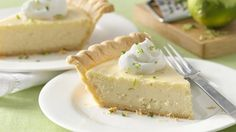 Key lime juice brings bold citrus flavor to this easy-to-make pie.