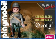 """Gebirgsjaeger """"Georg"""" // The image and figures do not necessarily reflect the opinion of Playmobil. #playmobilcustom"""