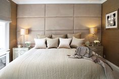 master bedroom feature wall ideas - Google Search